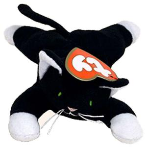 ビーニーベイビーズ Beanie Babies ぬいぐるみ・人形 McDonalds 1998 Zip the Cat Teenie Beanie Plush|fermart-hobby