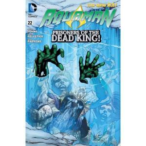 ディーシー コミックス DC 本・雑誌 The New 52 Aquaman #22 Prisoners of The Dead King! Comic Book|fermart-hobby