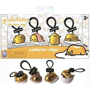 サンリオ Sanrio フィギュア 4点セット Collector Clips Gudetama Exclusive Figure 4-Pack [Gold]|fermart-hobby