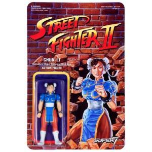リアクション ReAction フィギュア Street Fighter II Chun-Li Action Figure|fermart-hobby
