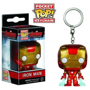 アイアンマン Iron Man ファンコ Funko ユニセックス キーホルダー Avengers Age of Ultron Pocket POP! Marvel Keychain|fermart-hobby