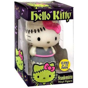 ハローキティ Hello Kitty フィギュア Halloween Frankenstein Exclusive 5-Inch Vinyl Figure [Glow in the Dark]|fermart-hobby