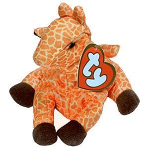 ビーニーベイビーズ Beanie Babies Ty ぬいぐるみ おもちゃ McDonalds Twigs the Giraffe Beanie Baby Plush #3|fermart-hobby