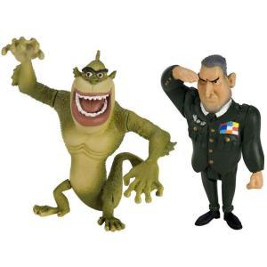 モンスターVSエイリアン ドリームワークス アニメーション フィギュア おもちゃ The Missing Link & General W.R. Monger Mini Figure 2-Pack|fermart-hobby