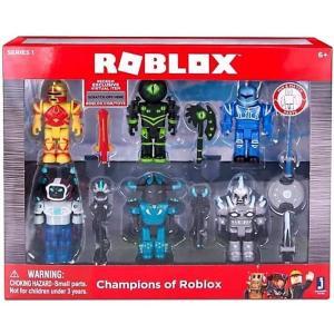ロブロックス Roblox ジャズウェアーズ Jazwares フィギュア おもちゃ Champions of Action Figure 6-Pack fermart-hobby
