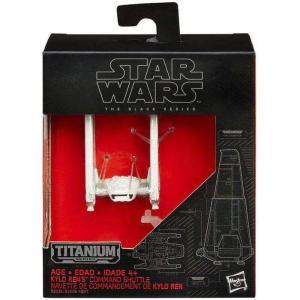 カイロ レン ハズブロ ダイキャストフィギュア おもちゃ Star Wars The Force Awakens Black Titanium 's Command Shuttle 2-Inch Diecast Vehicle [White]|fermart-hobby