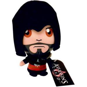 アサシン クリード Assassin's Creed ゴールディーインターナショナル フィギュア おもちゃ Revelations Ezio 6-Inch Plush Figure [Black]|fermart-hobby
