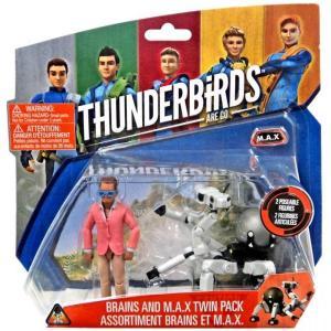サンダーバード Thunderbirds ヴィヴィッド Vivid フィギュア おもちゃ Are Go Brains & M.A.X. Action Figure 2-Pack M.A.X.|fermart-hobby