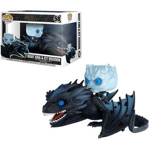 ゲーム オブ スローンズ Game of Thrones ファンコ Funko フィギュア おもちゃ POP! Rides Night King & Icy Viserion Vinyl Figure #58|fermart-hobby