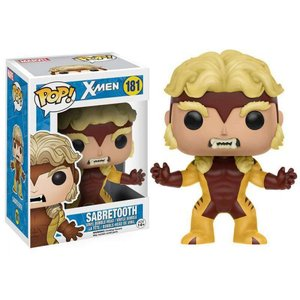 エックスメン X-Men ファンコ Funko フィギュア おもちゃ Marvel POP! Marvel Sabretooth Vinyl Bobble Head #181|fermart-hobby