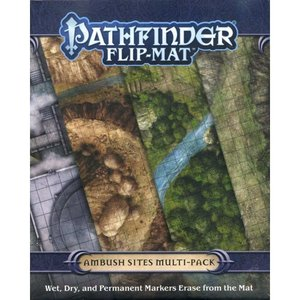 パスファインダー Pathfinder おもちゃ・ホビー 2nd Edition Ambush Sites Game Accessory|fermart-hobby