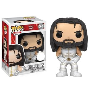 セス ロリンズ Seth Rollins ファンコ Funko フィギュア おもちゃ WWE Wrestling POP! Exclusive Vinyl Figure #24 [White Outfit]|fermart-hobby