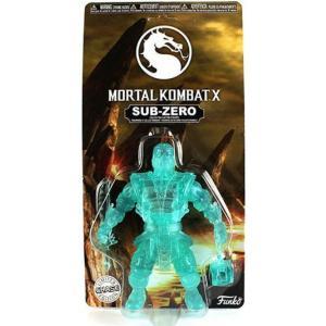 モータルコンバット Mortal Kombat ファンコ Funko フィギュア おもちゃ X Sub-Zero Action Figure [Clear, Chase Version] fermart-hobby