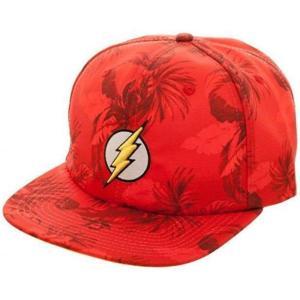 ディーシー コミックス DC Comics バイオワールド Bioworld ユニセックス キャップ 帽子 DC The Flash Floral Slouch Snapback Cap Apparel|fermart-hobby