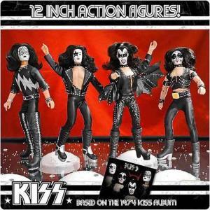 キッス KISS フィギュアーズトイ Figures Toy Co. フィギュア おもちゃ Deluxe Series 2 Set of 4 12 Inch Action Figures|fermart-hobby