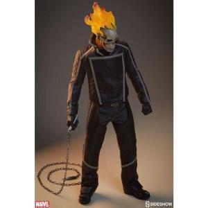 ゴーストライダー Ghost Rider サイドショウ Sideshow Collectibles フィギュア おもちゃ Marvel 1/6 Collectible Figure|fermart-hobby