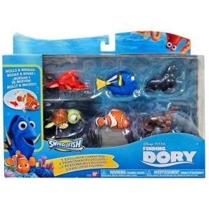 ファインディング ニモ Finding Dory フィギュア 6点セット Disney / Pixar Swigglefish Exclusive Figure 6-Pack|fermart-hobby