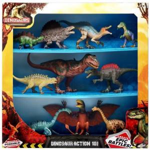 ダイナソー Dinosaurs フィギュア 10点セット Dinosaur Action Figure 10-Pack [Version 1]|fermart-hobby