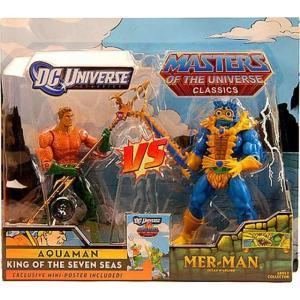アクアマン Aquaman マテル Mattel Toys フィギュア おもちゃ DC / Masters of the Universe Classics Club Eternia Vs. Mer-Man Exclusive Action Figures fermart-hobby