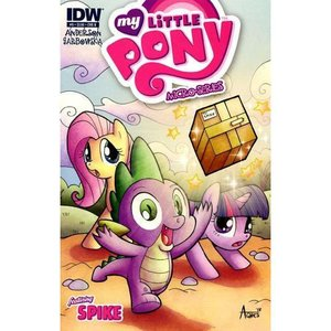マイリトルポニー My Little Pony 本・雑誌 漫画 Micro-Series #9 Featuring Spike Comic Book [Cover B]|fermart-hobby