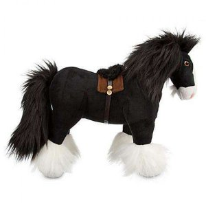 メリダと恐ろしの森 Brave ぬいぐるみ・人形 / Pixar Angus the Horse Exclusive 14-Inch Plush|fermart-hobby