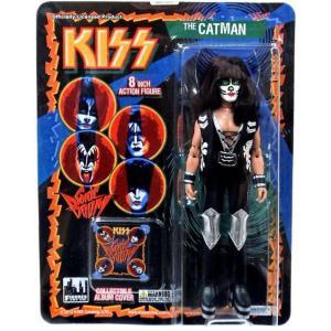 キッス Kiss フィギュアーズトイ Figures Toy Co. フィギュア おもちゃ KISS Retro Series 3 The Catman Action Figure|fermart-hobby