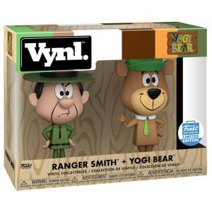 ハンナ バーベラ Hanna-Barbera フィギュア The Yogi Bear Show Vynl. Ranger Smith & Yogi Bear Exclusive Vinyl Figure 2-Pack|fermart-hobby