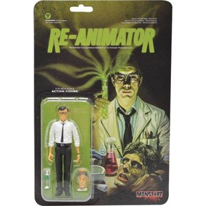 ホラー Horror フィギュア Re-Animator Herbert West Action Figure|fermart-hobby