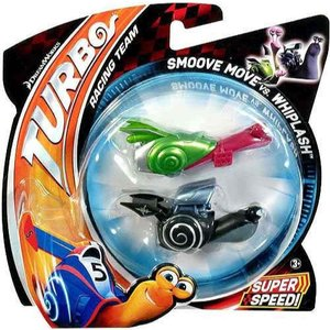 ターボ Turbo マテル Mattel Toys おもちゃ Smoove Move vs Whiplash Vehicle 2-Pack|fermart-hobby