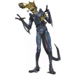 エイリアン Alien ネカ NECA フィギュア おもちゃ s Series 12 Battle-Damaged Xenomorph Action Figure [Blue]|fermart-hobby