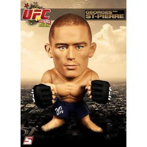 UFC ラウンド5 Round 5 フィギュア おもちゃ Titans Georges St Pierre Vinyl Figure [No Gi] fermart-hobby