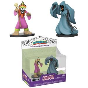 スクービー ドゥー Scooby Doo ファンコ Funko フィギュア おもちゃ Hero World Series 5 Witch Doctor & Phantom Exclusive 4-Inch Vinyl Figure 2-Pack|fermart-hobby