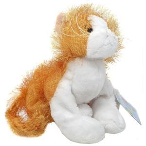 ウェブキンズ Webkinz ぬいぐるみ・人形 Orange & White Cat Plush fermart-hobby