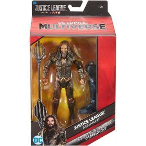 アクアマン Aquaman マテル Mattel Toys フィギュア おもちゃ DC Justice League Movie Multiverse Steppenwolf Series Action Figure fermart-hobby