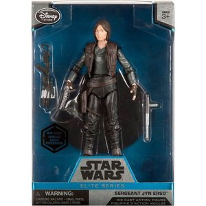 ジン アーソ Jyn Erso ディズニー Disney フィギュア おもちゃ Star Wars Rogue One Elite Sergeant Exclusive 6.5-Inch Diecast Figure|fermart-hobby