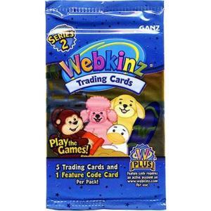 ウェブキンズ Webkinz トレーディングカード Trading Cards Series 2 Series 2 Booster Pack fermart-hobby