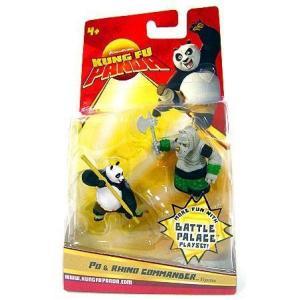 カンフー パンダ Kung Fu Panda フィギュア Po & Rhino Commander Mini Figure 2-Pack fermart-hobby