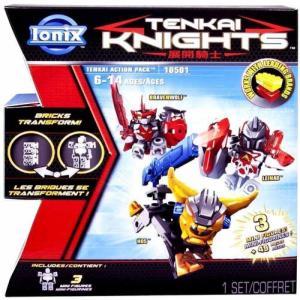 テンカイナイト Tenkai Knights フィギュア Bravenwolf, Leinad & HOS Minifigure 3-Pack #10501 fermart-hobby