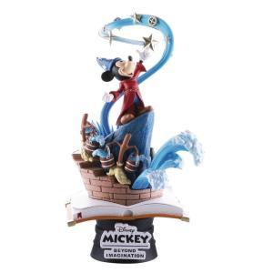 ディズニー Disney 彫像・スタチュー Fantasia D-Select Sorcerer's Apprentice 6-Inch Diorama Statue DS-018|fermart-hobby