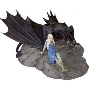 ゲーム オブ スローンズ Game of Thrones ダークホース Dark Horse フィギュア おもちゃ Daenerys & Drogon Statuette|fermart-hobby