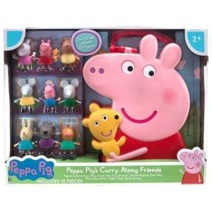 ペッパピッグ Peppa Pig フィギュア 's Carry Along Friends Exclusive Figure Set|fermart-hobby