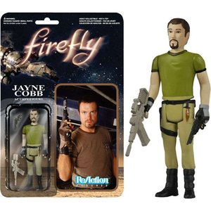 ファイヤーフライ 宇宙大戦争 Firefly フィギュア ReAction Jayne Cobb Action Figure|fermart-hobby