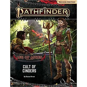 パスファインダー Pathfinder 本・雑誌 2nd Edition Cult of Cinders Adventure Path Book [Age of Ashes 2 of 6]|fermart-hobby