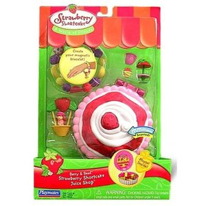 ストロベリーショートケーキ Strawberry Shortcake プレイメイツ Playmates おもちゃ Berry & Bead Juice Shop|fermart-hobby