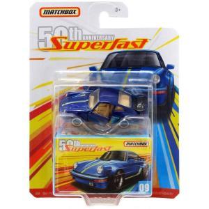 マッチボックス Matchbox おもちゃ・ホビー 50th Anniversary Superfast '80 Porsche 911 Turbo Diecast Vehicle #09|fermart-hobby