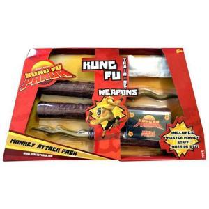 カンフー パンダ Kung Fu Panda マテル Mattel Toys おもちゃ Training Weapons Monkey Attack Pack Exclusive Roleplay Toy|fermart-hobby