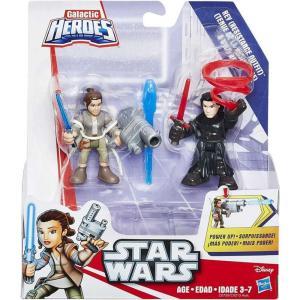 カイロ レン Kylo Ren ハズブロ Hasbro Toys フィギュア おもちゃ Star Wars Galactic Heroes Rey (Resistance Outfit) & Mini Figure 2-Pack|fermart-hobby