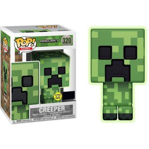 クリーパー Creeper ファンコ Funko フィギュア おもちゃ Minecraft POP! Video Games Exclusive Vinyl Figure #320 [Glow-in-the-Dark]|fermart-hobby