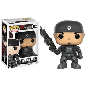 ギアーズ オブ ウォー Gears of War ファンコ Funko フィギュア おもちゃ POP! Video Games Marcus Fenix Vinyl Figure #112|fermart-hobby