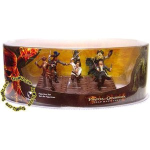 パイレーツ オブ カリビアン Pirates of the Caribbean ディズニー Disney フィギュア おもちゃ Dead Man's Chest Figurine Set Exclusive 3.75-Inch|fermart-hobby